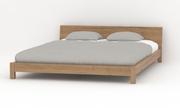 Кровать Эко Лайт 16 экологичная из массива дерева на заказ