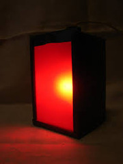 Фотолабораторный фонарь,  ''красная'' фотолампа