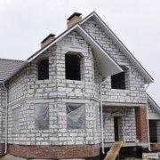 Стоительство домов из  блоков без отделки и под ключ