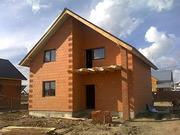 Стоительство домов из кирпича без отделки и под ключ