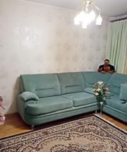 Двухкомнатная квартира стандартной планировки в Малиновке.