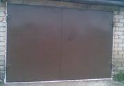 Панельные секционные и металлические гаражные ворота. Монтаж.